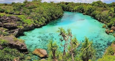 Danau dengan Air Asin di Indonesia yang Keren Banget
