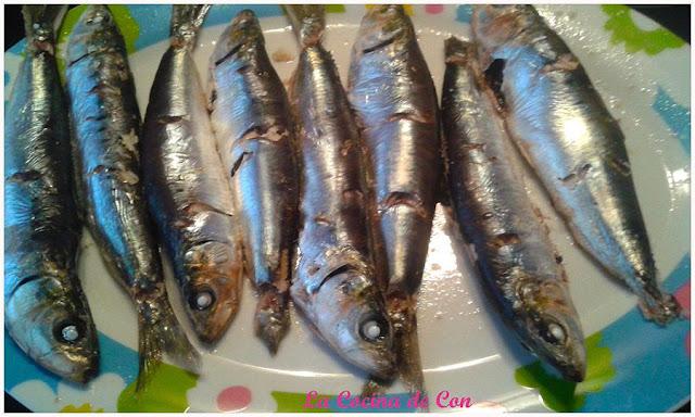 sardinas asadas al horno
