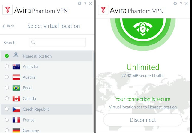 Avira Phantom VPN Pro 2.19.1.25749 Free Download Full Version