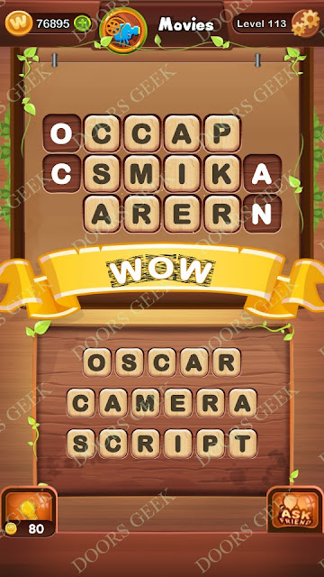 Word Bright Level 113 Answers, Cheats, Solutions, Walkthrough for android, iphone, ipad and ipod