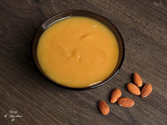 Crema de almendras - Almond cream