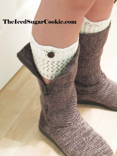 Boho Socks Hipster Hippy Fashion Clothing Cute Adorable 2016 Crochet Button