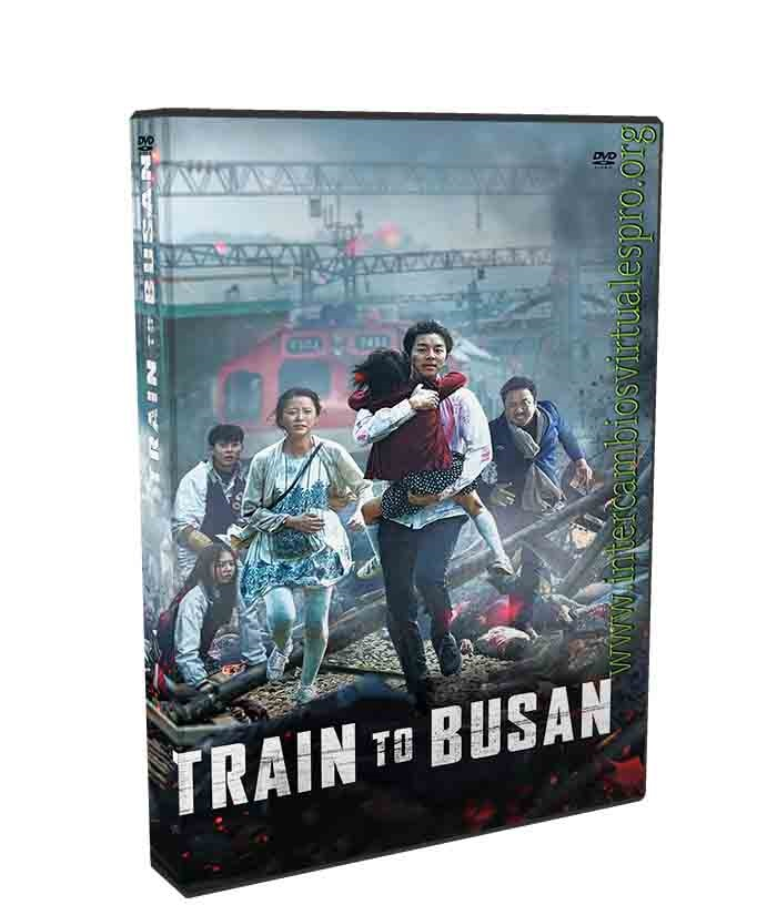 TRAIN TO BUSAN poster box cover