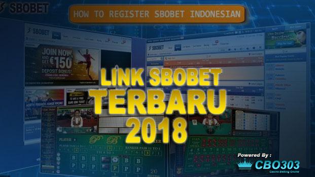 Link Alternatif SBOBET Terbaru Dan Terlengkap Tahun 2018