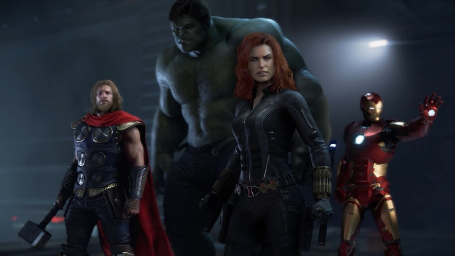 Marvel S Avengers Black Widow Thor Hulk Iron Man 4k