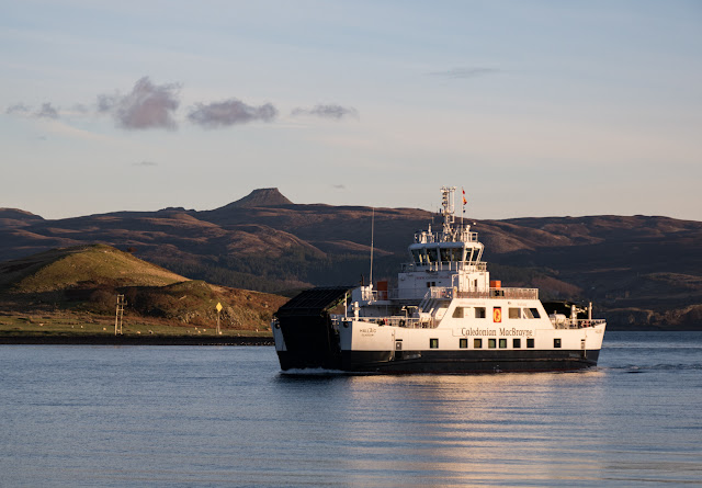 Ferry from Sconser to Raasay
