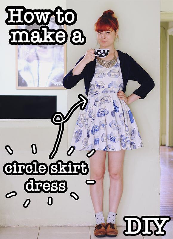 The Pineneedle Collective  DIY Circle Skirt Dress (Video Tutorial) 495b160ce