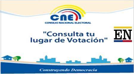 donde votar ecuador
