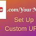How to create A custom URL on  youtube   bangla Tutorial RD tech channel