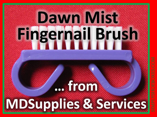Nail brush review from MD Supplies & Services.
