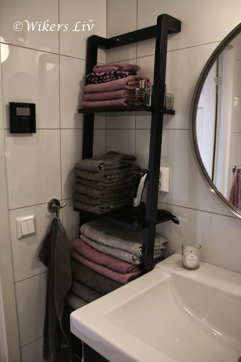 Wikers liv: lördag morgon i nystädat badrum