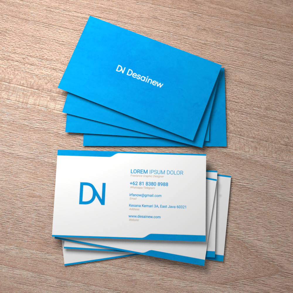 Business Card Mockup tutorial Blender Adobe Photshop PSD free download