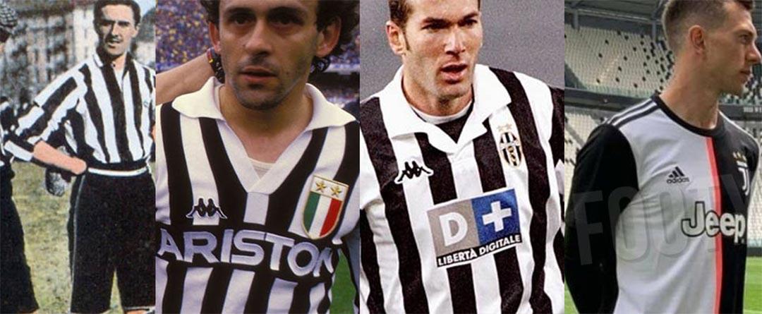 Revolutionary Half And Half Design Next Season Full Juventus Home Kit History From 1897 Until 2019 Footy Headlines