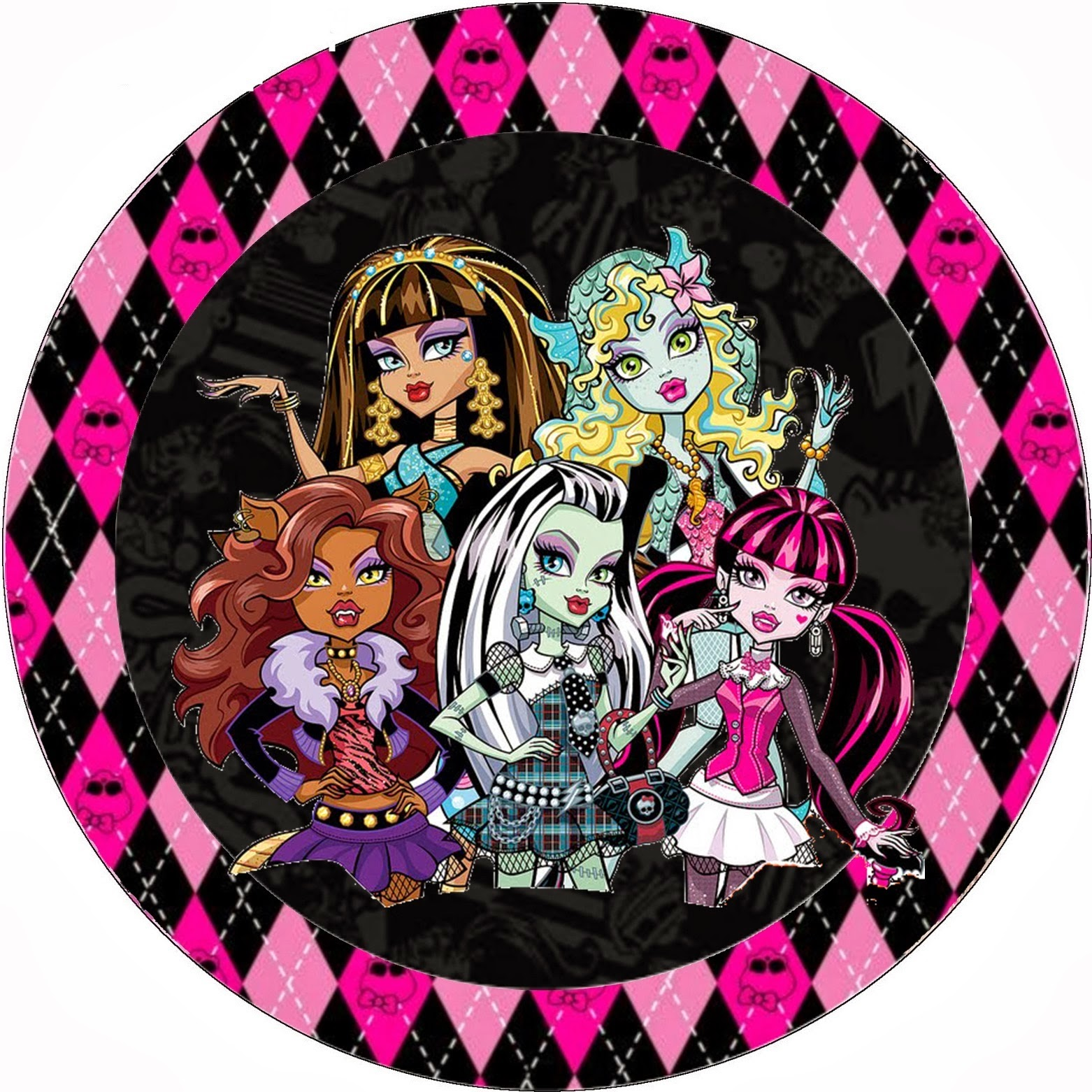 Monster high halloween special free printable kit oh my - Monster high image ...