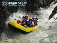 rafting bogor sungai kalibaru