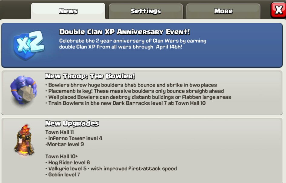 Double Clan Xp