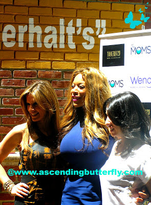 Denise Albert, Wendy Williams, Melissa Gerstein at Ask Wendy Book Signing Mamarazzi Launch Event at Tavern 29 in New York City