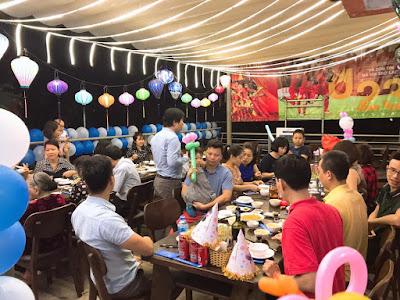 Shop Babystyle trang trí và tổ chức tiệc sinh nhật cho bé Khánh Ngân