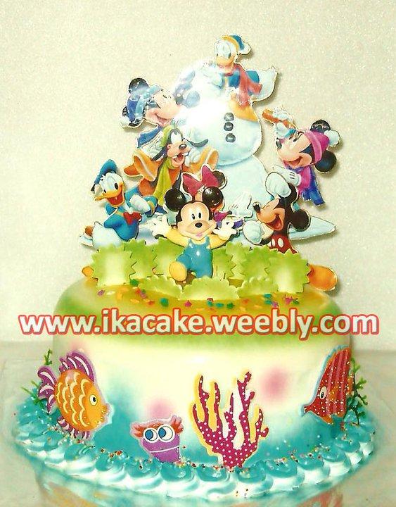 Ikacake Kue Ulang Tahun Anak