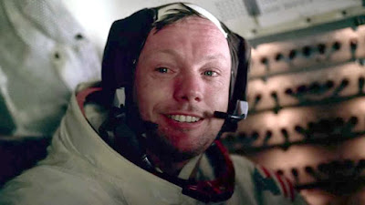 Apollo 11 2019 documentary movie still Neil Armstrong crying and smiling