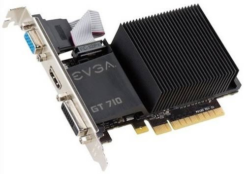 Placa de vídeo EVGA GeForce GT710