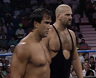 WCW Great American Bash 1992 - Ricky 'The Dragon' Steamboat & Nikita Koloff