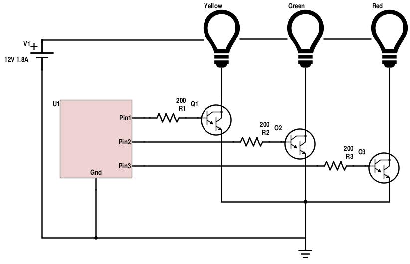 Becker Maker Blog: Building an NPN Transistor Switch Circuit on