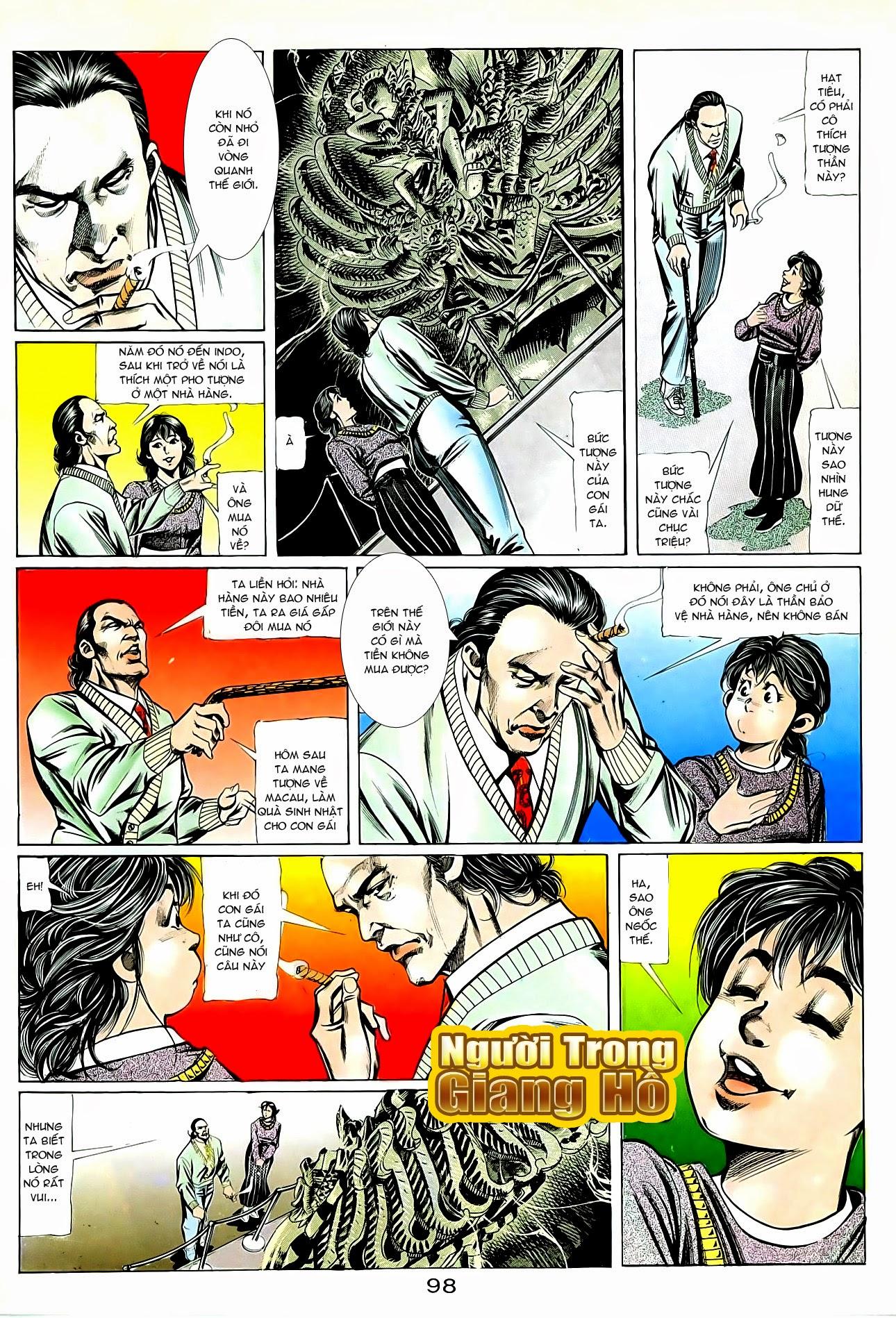 Người Trong Giang Hồ chapter 87: chống lưng của a khôn trang 12