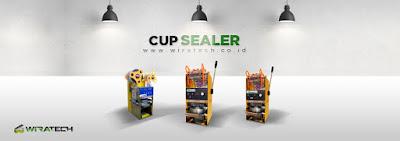 cup sealer bekas