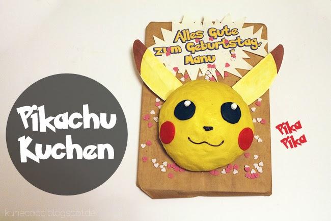 KuneCoco • Rezept • Pikachu-Kuchen
