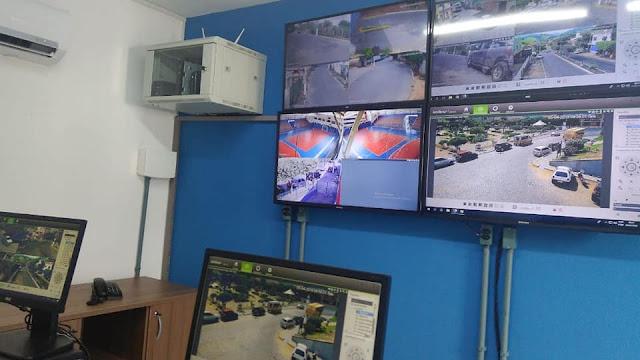 Carmo inaugura Centro de Monitoramento Eclair Tavares Andre
