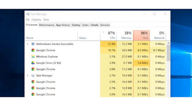 Windows 10 Run Faster