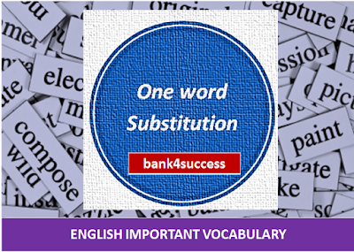 200 Important One Word Substitution PDF Free Download