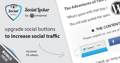 Social Locker For Wordpress V4.5.5