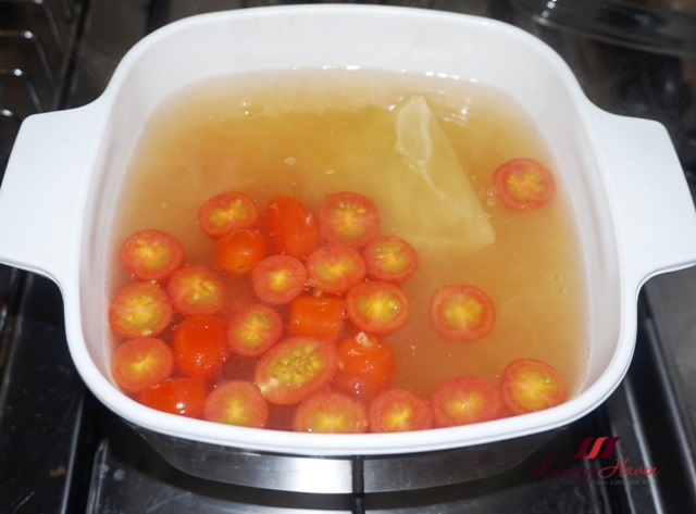 cherry tomatoes soup