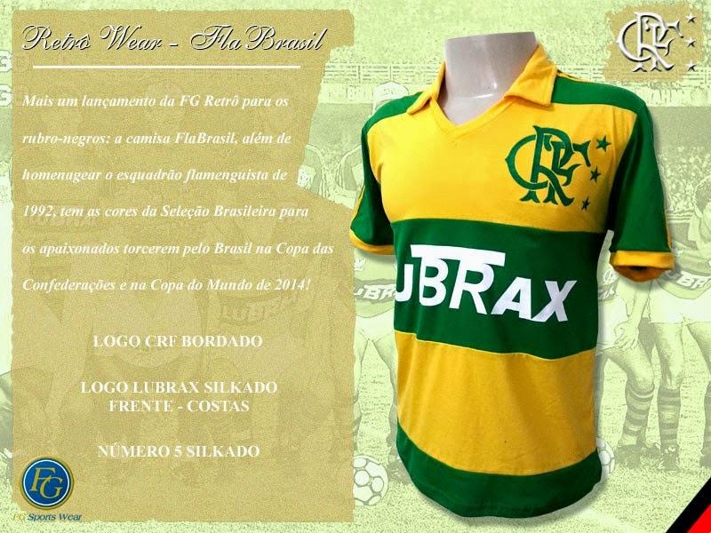 b885ff889b Camisa do Flamengo Verde-Amarela