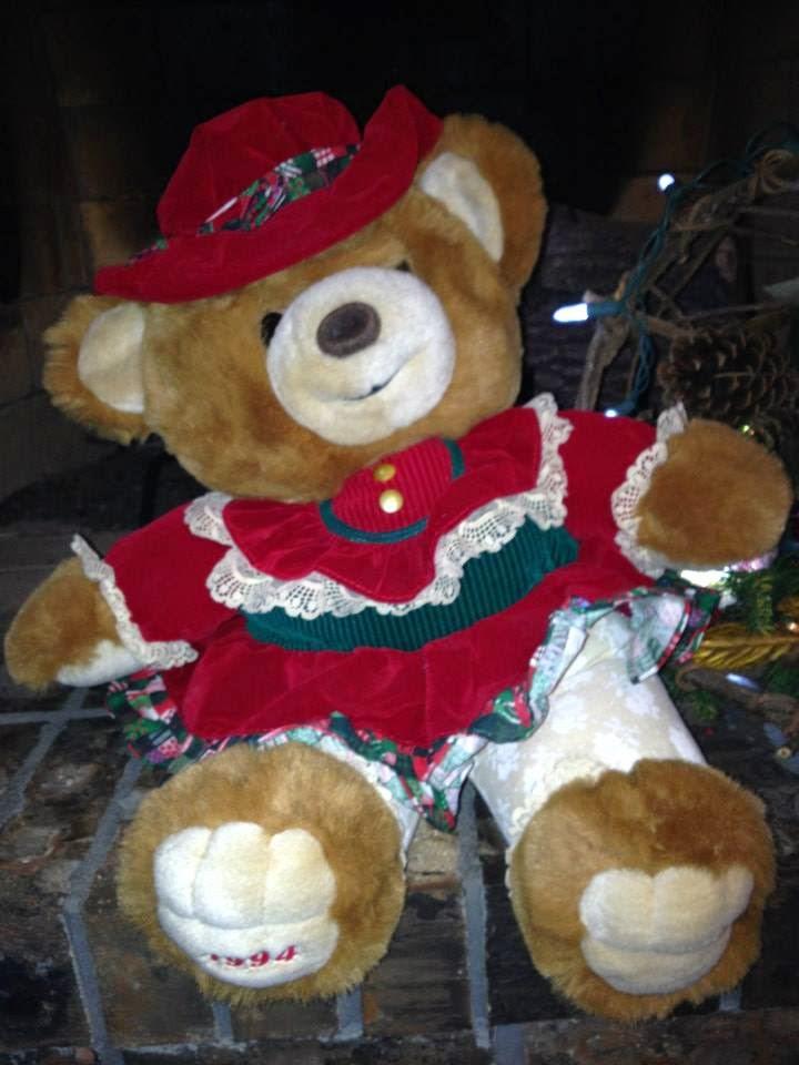 The Teddy Bear Shelter Christmas Holiday Teddy Bears