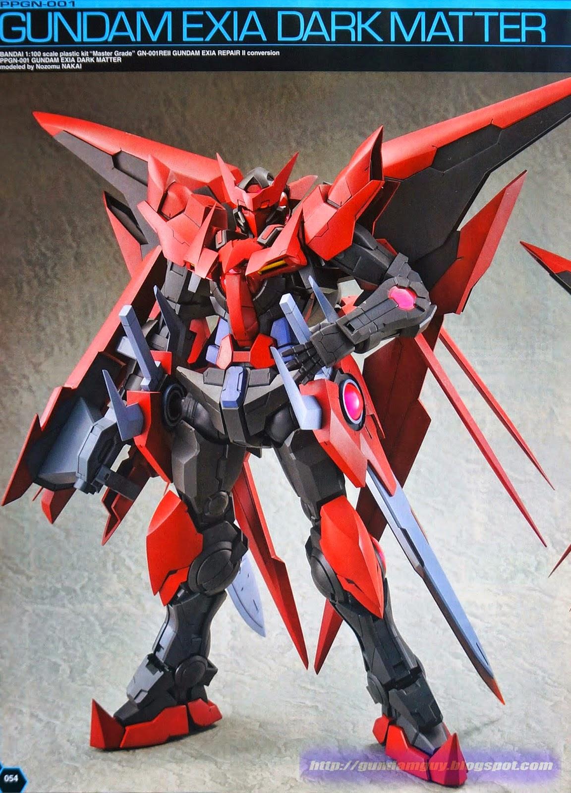 GUNDAM GUY: 1/100 PPGN-001 Gundam Exia Dark Matter ...