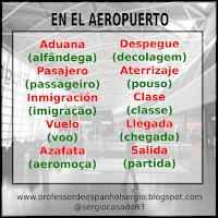 Vocabulário: No aeroporto em espanhol, curso de espanhol, dicas de espanhol, aeroporto, Espanhol básico, Vocabulário, Espanhol Turismo, Espanhol para Iniciantes, Espanhol, Aprender Espanhol, Aprender Espanhol Youtube, Professor de Espanhol, Professor de Espanhol Sergio