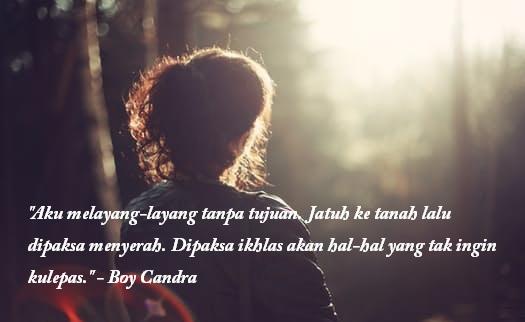 Kata Kata Bijak Boy Candra Tentang Cinta