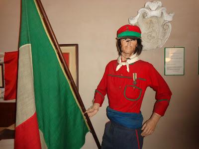 Museo Zenucchini Manerbio camicia rossa garibaldina