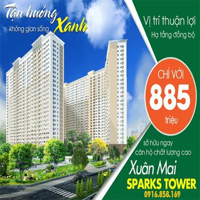 Bảng giá Xuân Mai Sparks Tower