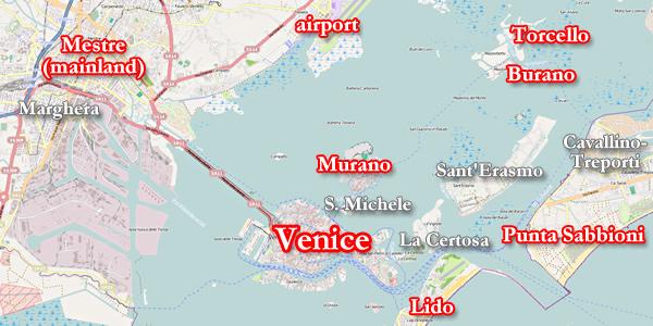 Informações sobre a Ilha de Murano em Veneza
