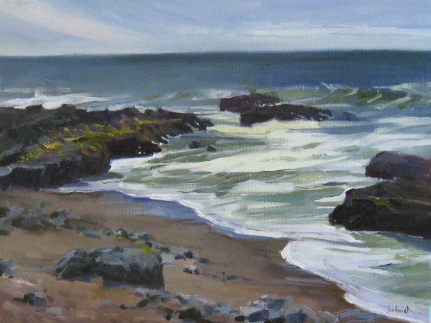 "sedwick studio ""rocky shore"" plein"