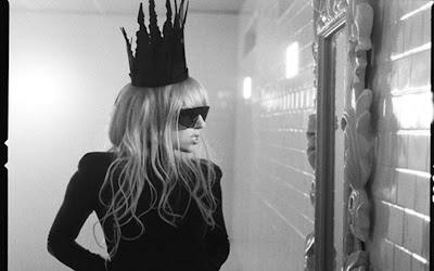 Lady gaga in bathroom | portrait