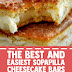The Best and Easiest Sopapilla Cheesecake Bars #dessert #cheesecake