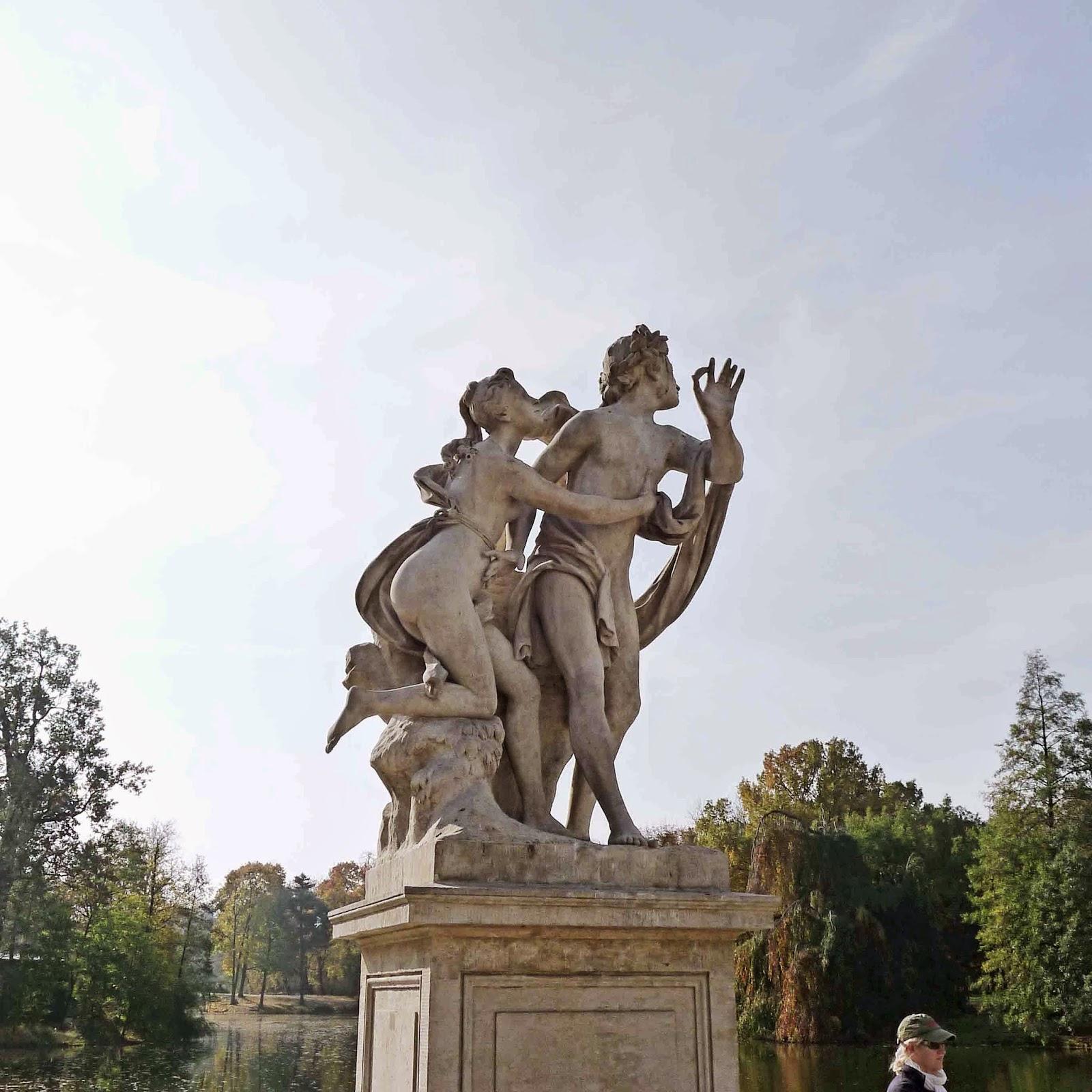 Lazienki Palace Statue