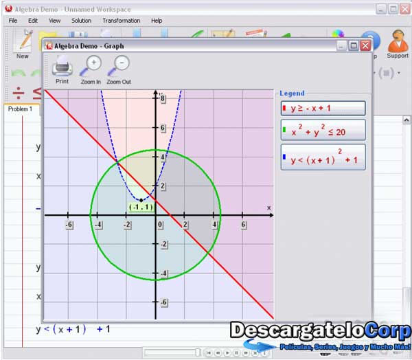 Algebrator 5.1 rc1 Resuelve problemas de álgebra fácil