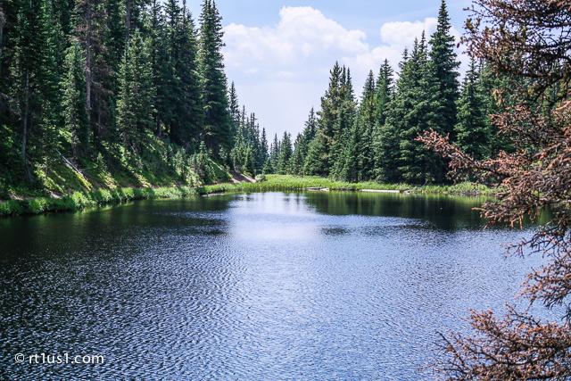 Lake at Milner Pass