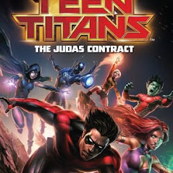 Poster Teen Titans: The Judas Contract 2017
